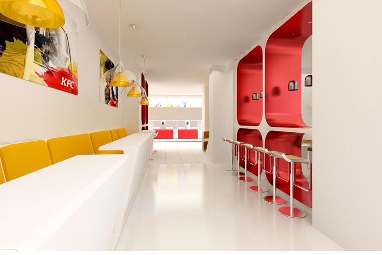 Создание брендбука сети фастфуд ресторанов KFC