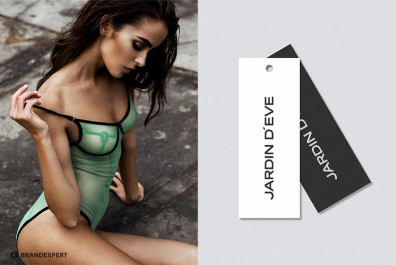 Разработка названия бренда женского нижнего белья Jardin d'Eve