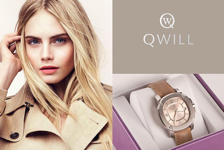 Создание руководства по управлению фирменным стилем для бренда Qwill