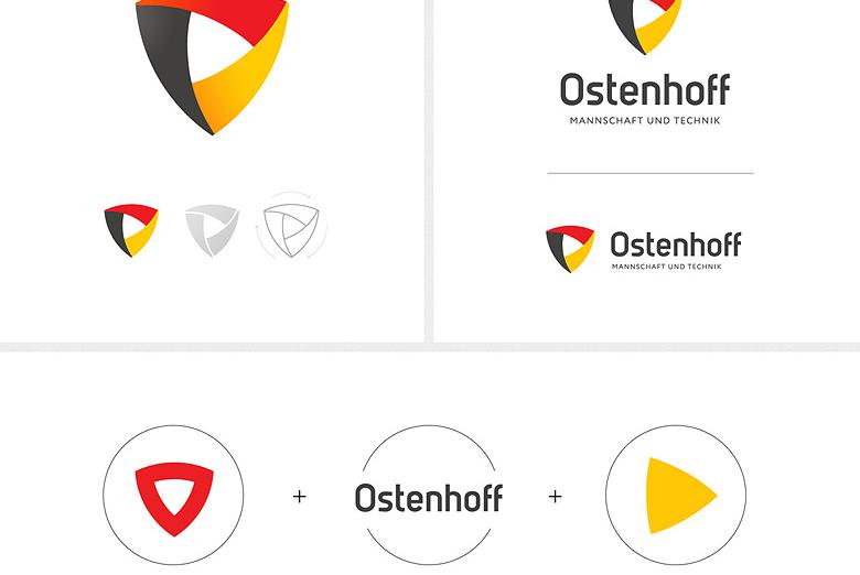 Разработка брендкода для компнаии Ostenhoff