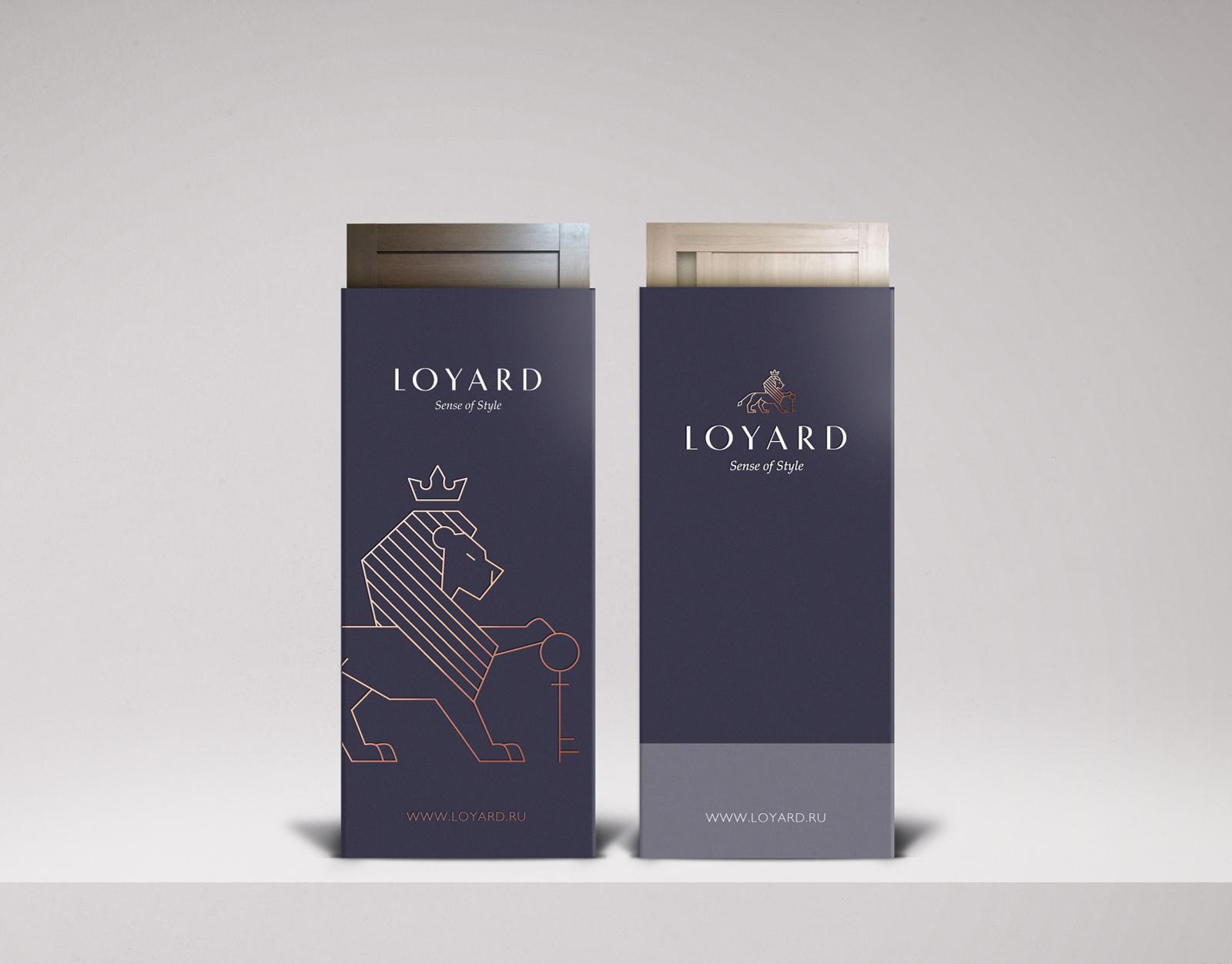 Дизайн полиграфии бренда LOYARD и разработка  комплекса бренд-коммуникаций