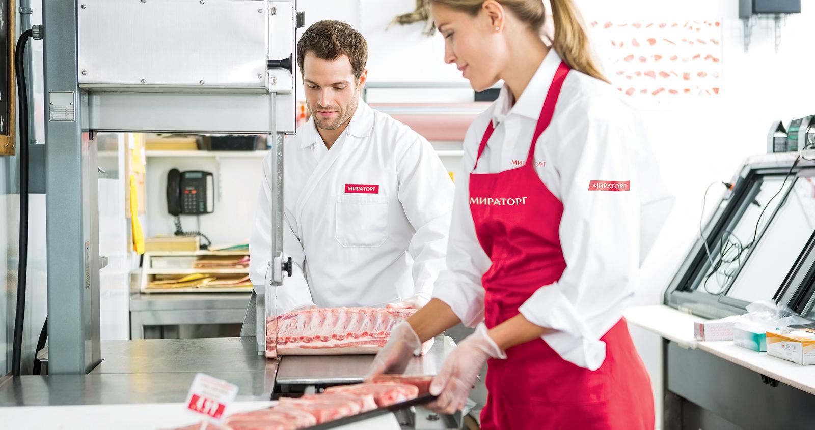 Стандарты фирменной одежды сотрудников «Мираторг», работающих в супермаркетах
