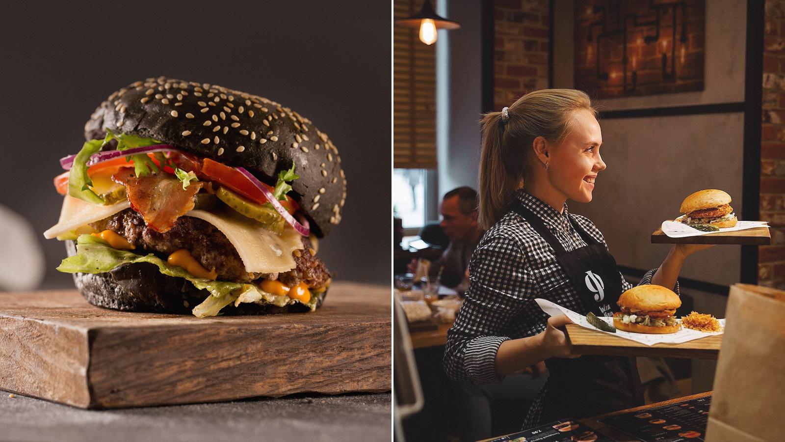 Главные достоинства «JohnФёдор» —вкусные бургеры и неповторимая атмосфреа