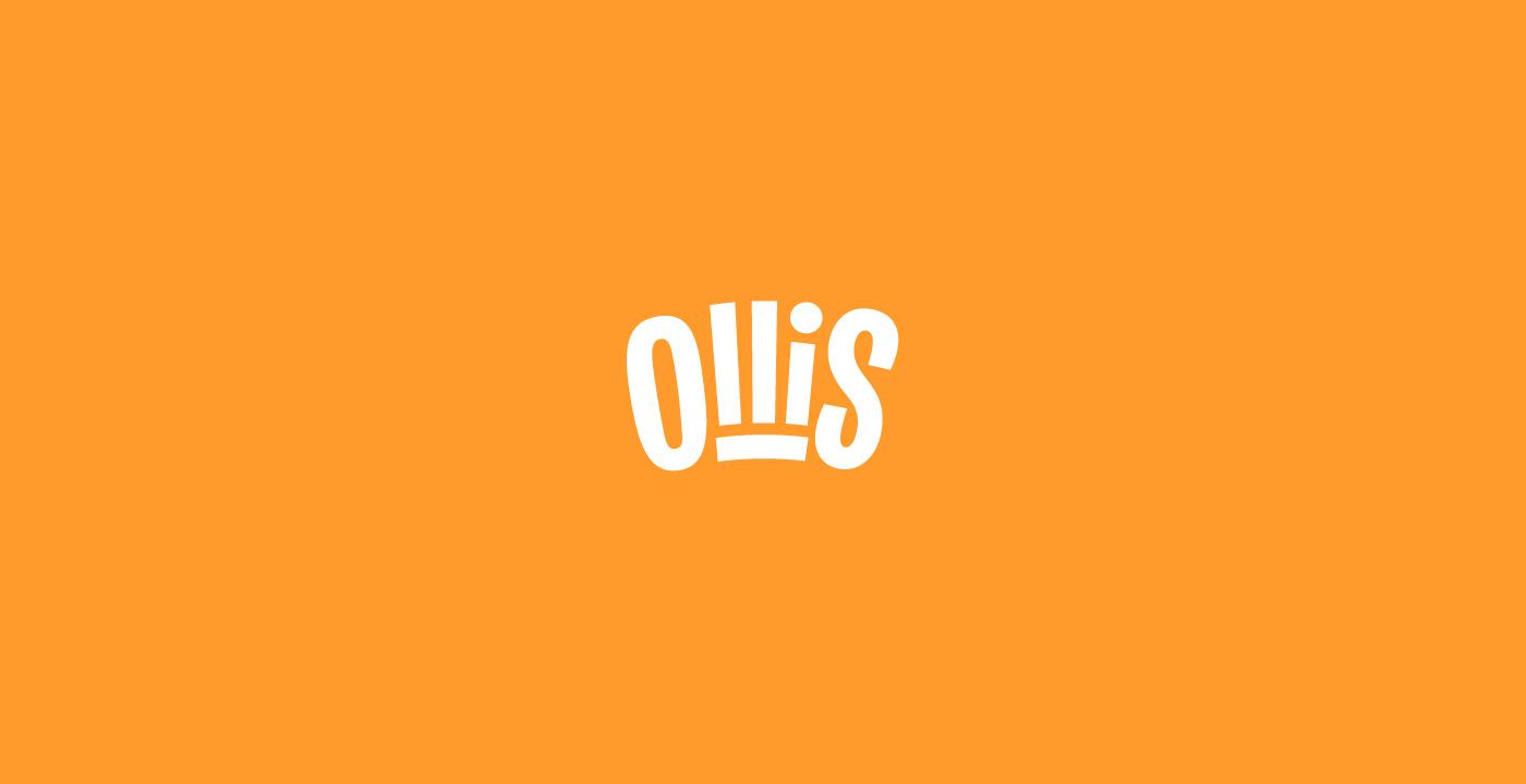 Полный рестайлинг питерской сети ресторанов и доставки еды Ollis: разработка позиционирования бренда, создание дизайна логотипа и фирменного стиля, дизайна упаковки, этикетки и комплекса рекламных коммуникаций.