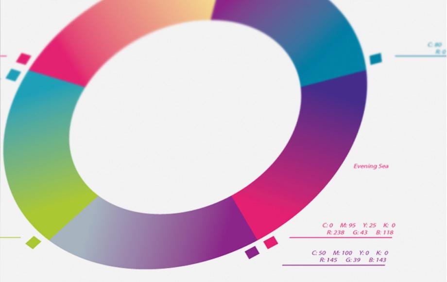 Цветовая палитра бренда Sumaya