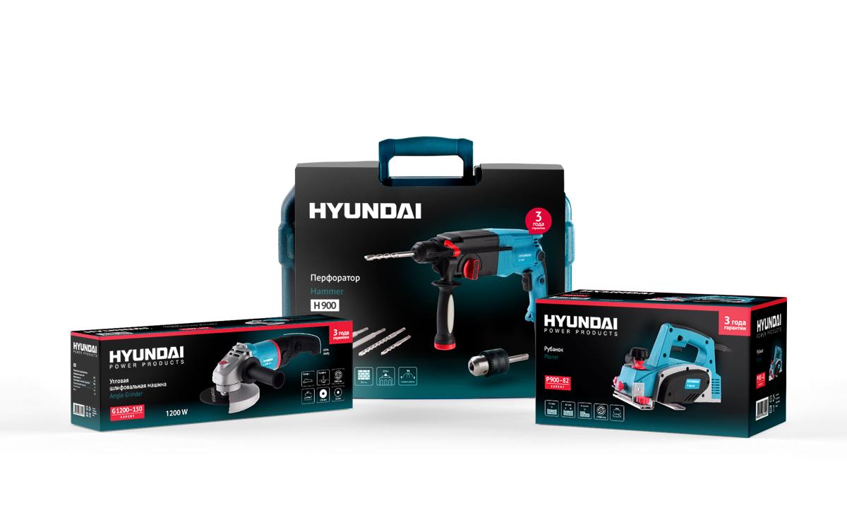 Дизайн упаковки HYUNDAI и развитие на ассортимент