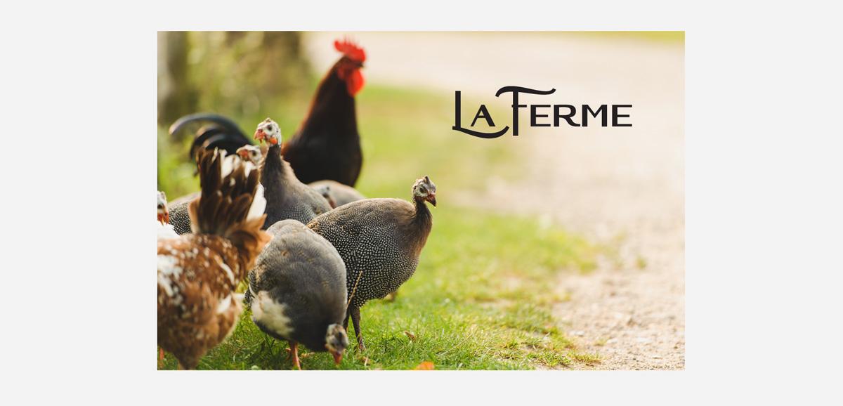 Создание бренда La Ferme (товарный брендинг)