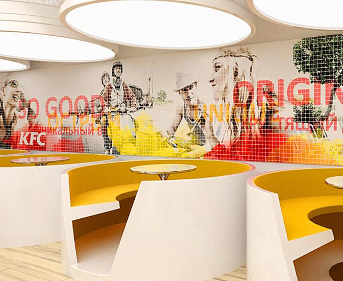 Дизайн интерьера ресторана, кафе